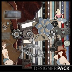 Pin Up Bundle Scrap'n'Design Digital Bundles 6,95 €