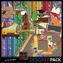 Back to School Bundle 01 Scrap'n'Design Digital Bundles 10,90€