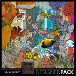 Bundle Sous l'Océans Digital Bundles Scrap'n'Design 4,90 €