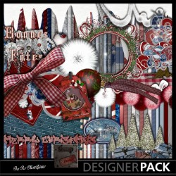 Noël XXL 01 Digital Bundles Scrap'n'Design 10,90€