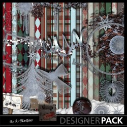 Let it Snow Scrap'n'Design Digital Bundles 6,50 €