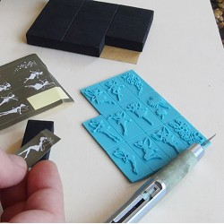Fayries Set Stamp Stamps-Inks-Powder 9,90€