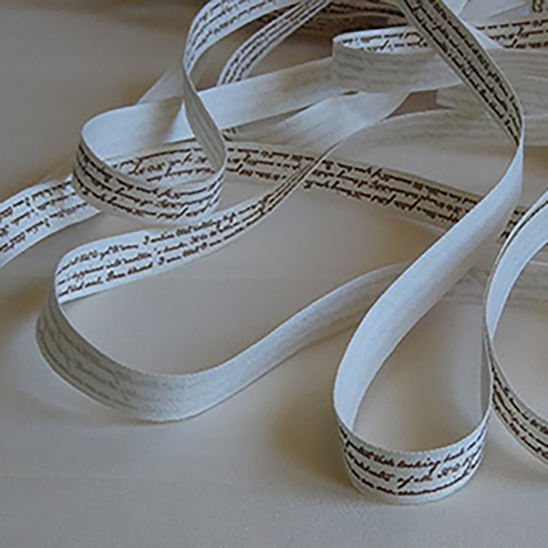 Cream Ribbon & Text Ribbons 1,20 €