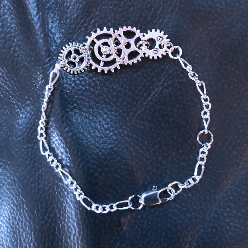 Steampunk Bracelet Scrap'n'Design Bracelets 11,50€