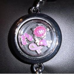 Bracelet Breloques Rose Bracelets Scrap'n'Design 11,00€
