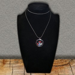 Red & Blue Floating Necklace & Charms Scrap'n'Design Necklaces 14,00 €