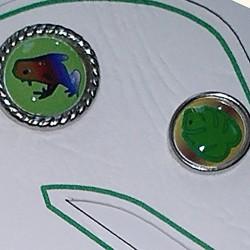 Brads Monstera Scrap'n'Design Brads-Buttons 4,50€