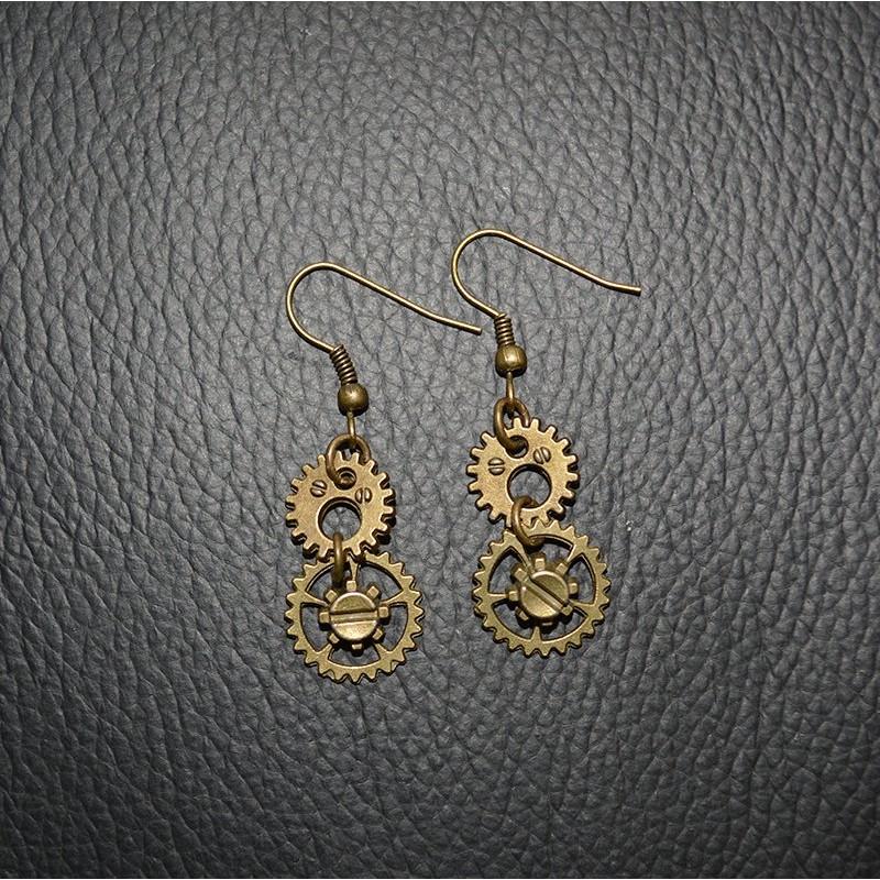 Boucles d'oreilles Boucles d'Oreilles Scrap'n'Design 6,00€