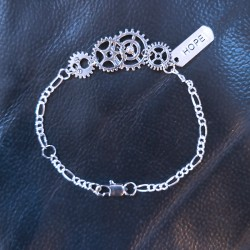 Steampunk & Word Bracelet Scrap'n'Design Bracelets 12,50€