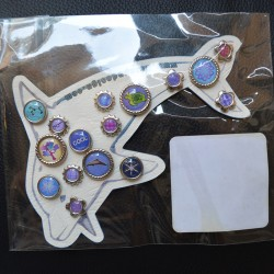 Brads Dolphin Scrap'n'Design Brads-Buttons 4,50€