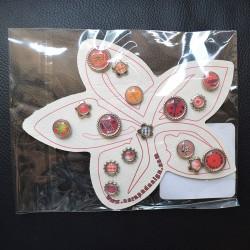 Attaches Parisiennes Fleurs Brads-Bouton Scrap'n'Design 4,50€ -20%
