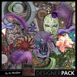 """""""A la Française"""" combo 01 Scrap'n'Design Digital Kits 4,49€"""