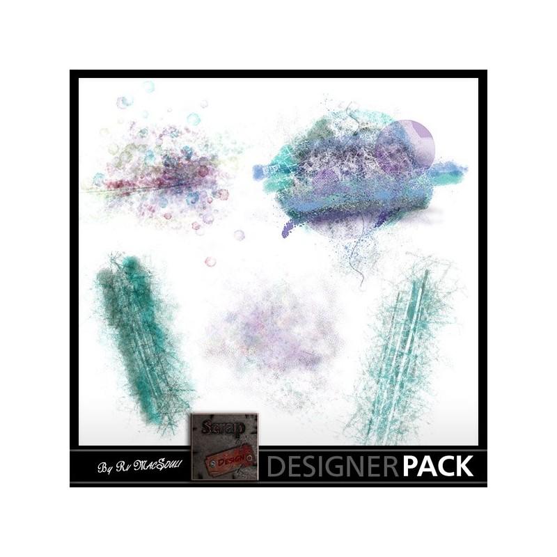 "Overlays ""à la Française"" Scrap'n'Design Overlays 1,90€"