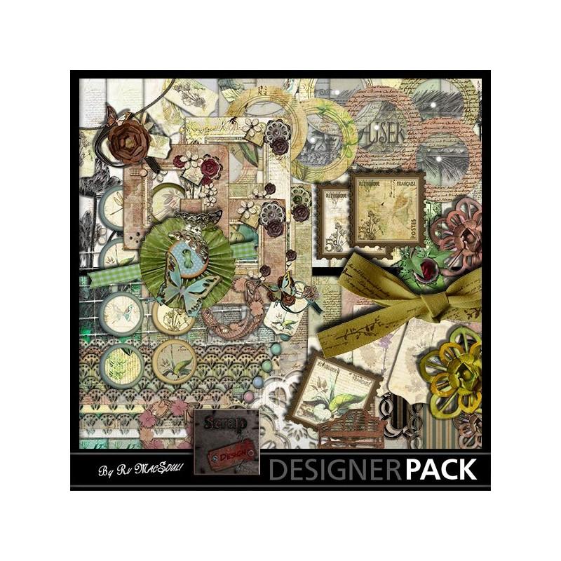 Green Hand Scrap'n'Design Digital Bundles 7,90€