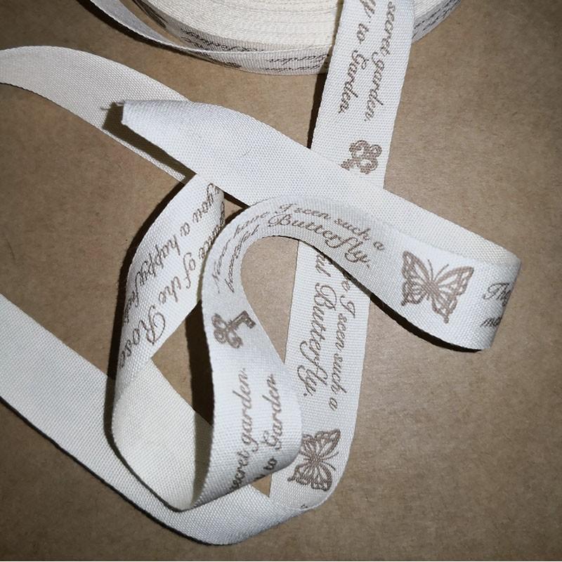 Cream Ribbon Text and symbol Ribbons 1,20€