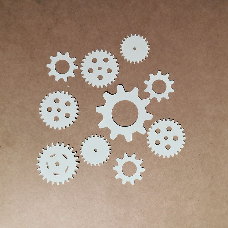 Gears Paper Cut Scrap'n'Design Home 1,25 €