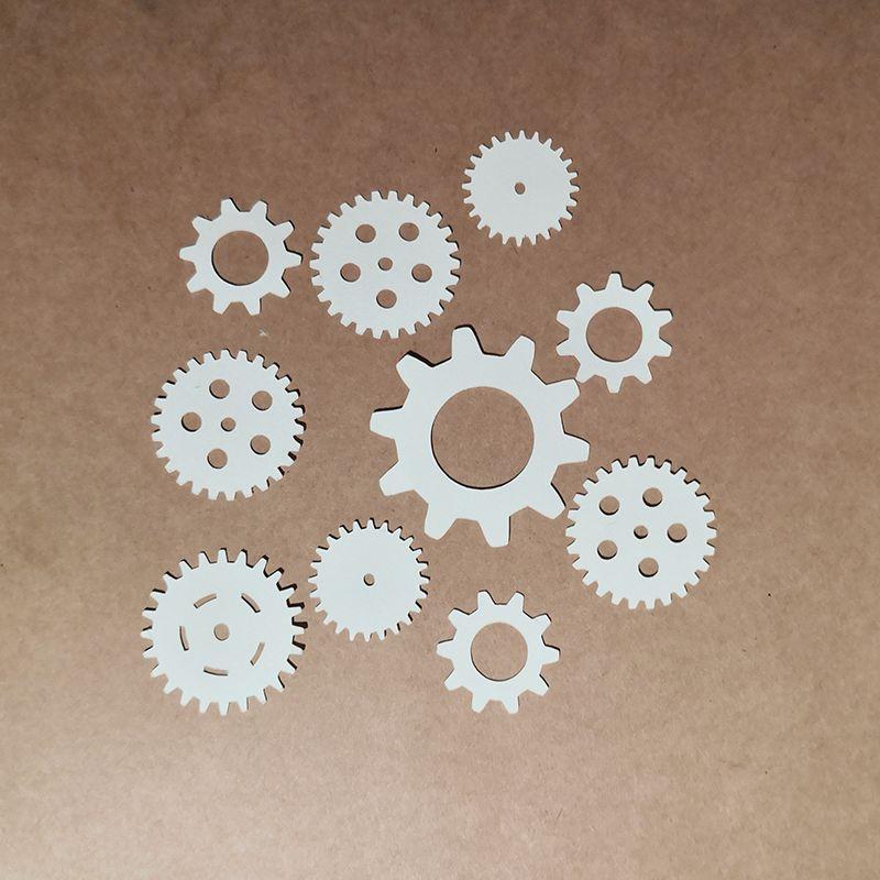 Gears Paper Cut Scrap'n'Design Home 1,25€