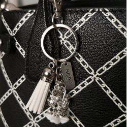 White Flower Bag Jewelry Scrap'n'Design Bag Jewelry 9,90€