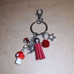 Bijoux de Sac Champignon Bijoux de sac Scrap'n'Design 8,90€
