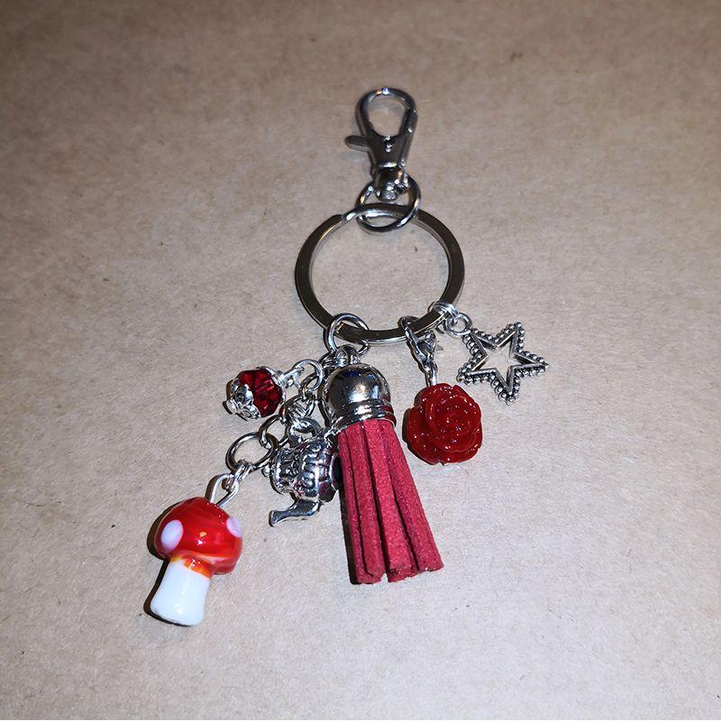 Mushroom Jewelry Bag Scrap'n'Design Bag Jewelry 9,90€