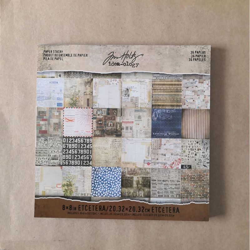 Paper Stash EtcEtera by Tim Holtz Ranger Ink Papers 12,80€