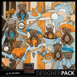 Under the Rain kit 01 Scrap'n'Design Digital Kits 3,49 €