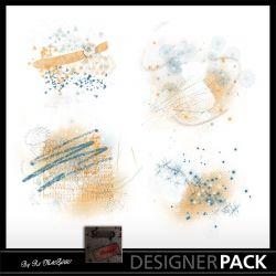 Overlays Under Rain Scrap'n'Design Overlays 1,70€