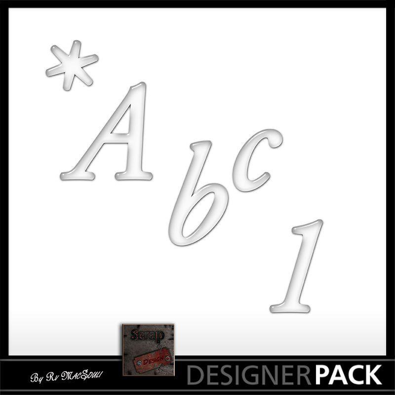 Monogrames Sous la Pluie Monogrames Scrap'n'Design 1,90€