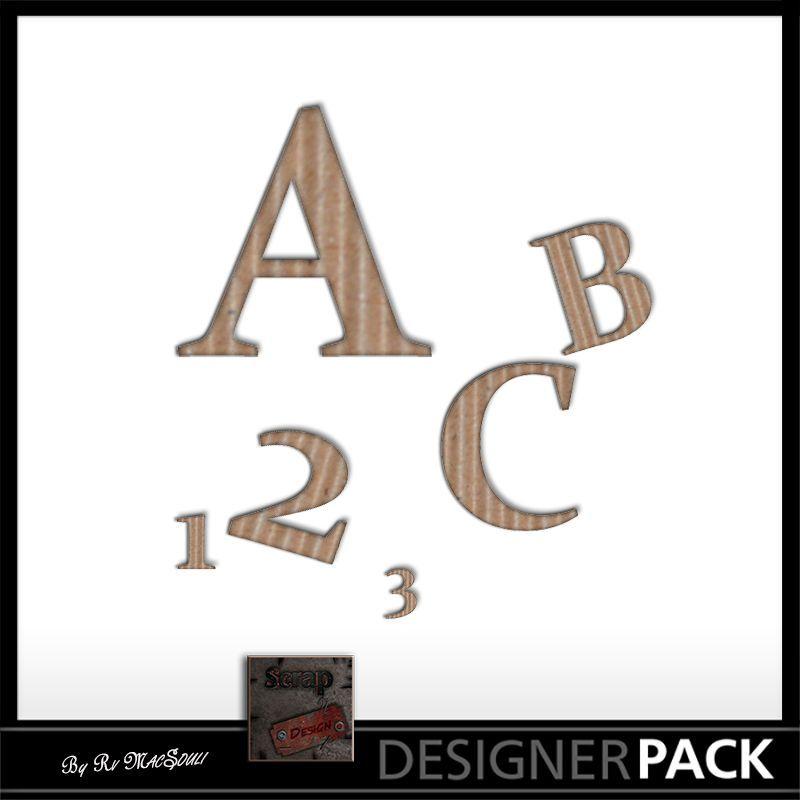 Alpha Eternity Scrap'n'Design Alphas 0,99€