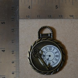 Charms Clock Key