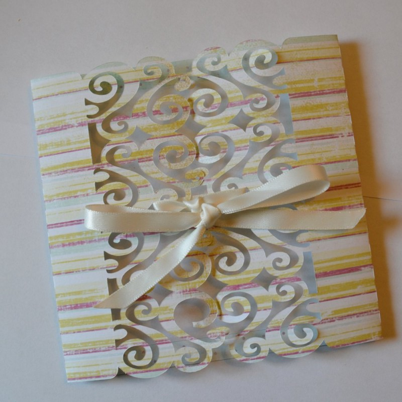 Simple wedding invitation Scrap'n'Design Card Making 4,90 €