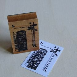 London Telephone Stamp Stamps-Inks-Powder 3,90€