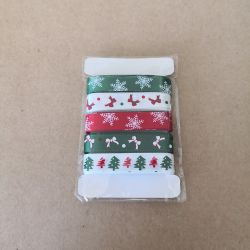 Set of Xmas Ribbons Scrap'n'Design Ribbons-Masking Tapes 3,90 €