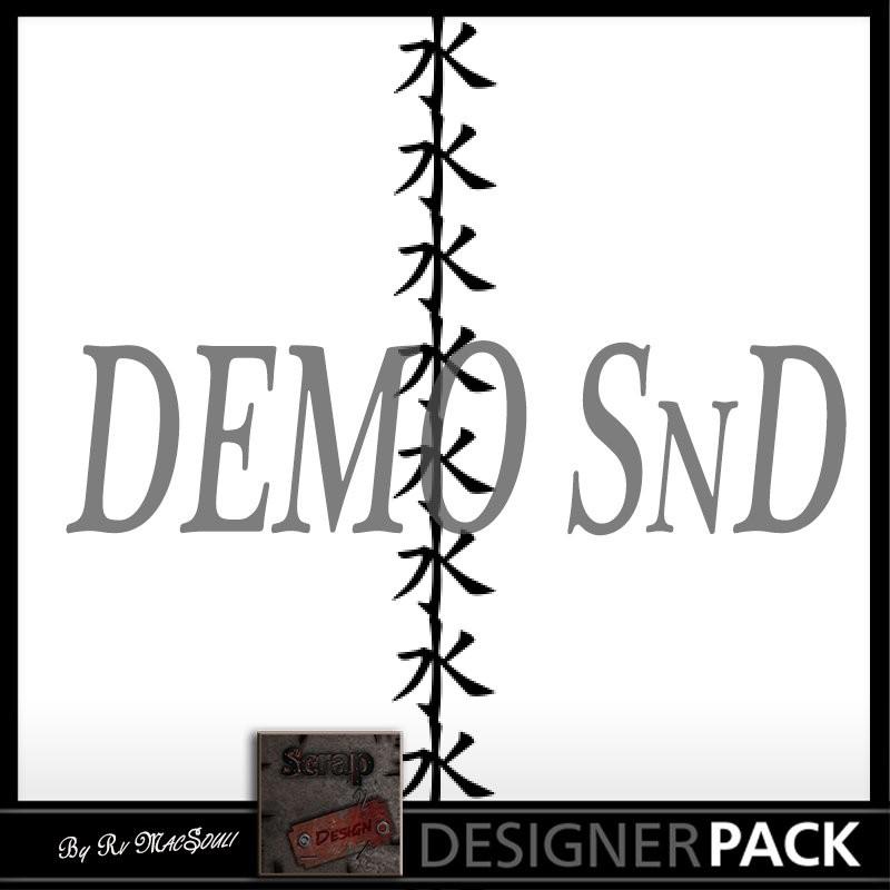 Vector Border Kanji Scrap'n'Design SVG 0,15€