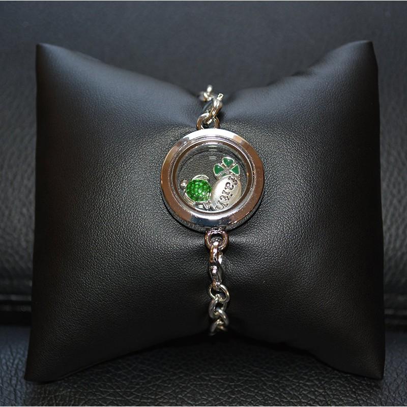 Bracelet Breloques Vert Bracelets Scrap'n'Design 11,00€