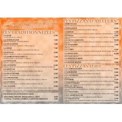 Flyers Pizzeria Autres Scrap'n'Design 50,00€