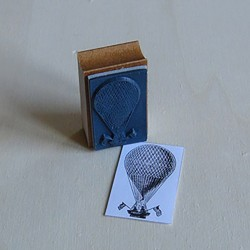 Tampon Montgolfière Tampons-Encres-Poudres 3,90€