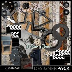 Cinéma Bundle Digital Bundles Scrap'n'Design 4,95€